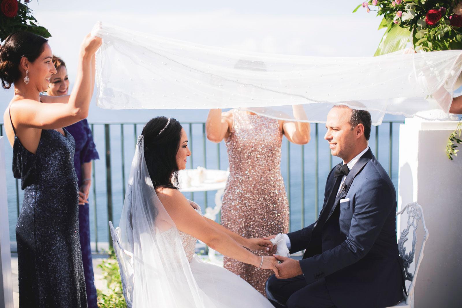 symbolic wedding ceremony Sorrento