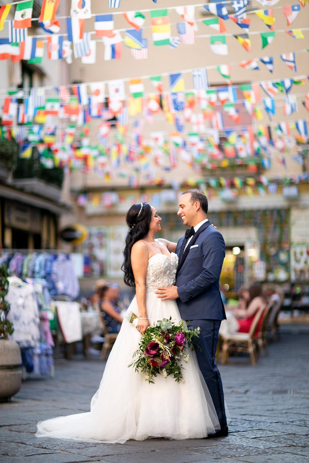 symbolic wedding in Sorrento