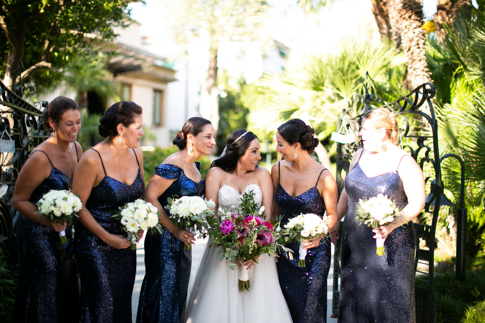 symbolic ceremony Sorrento private villa wedding