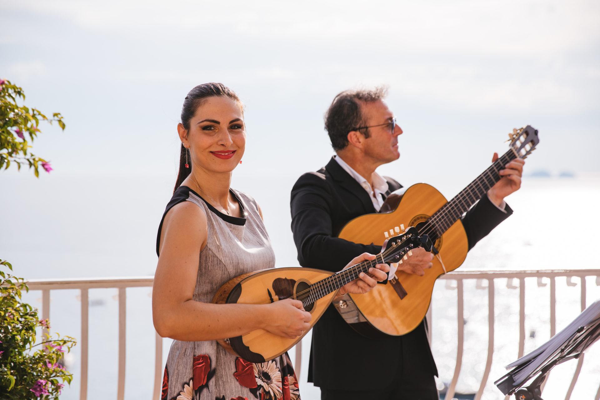 guitar and mandolin music Positano